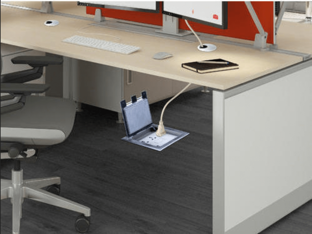 Floor boxes for business - Aurora Tech Support in Harrogate, Wetherby, Leeds, York, Otley Yorkshire