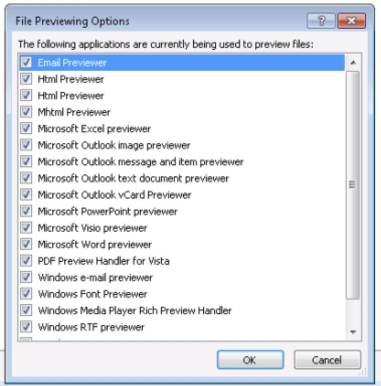 Microsoft 365 - Microsoft Word previewer