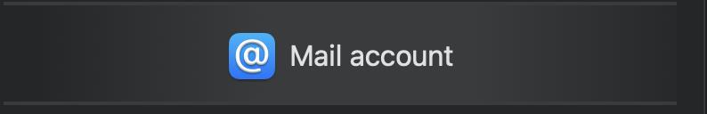 Microsoft 365 - Mail account